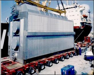 boiler to be shipped
