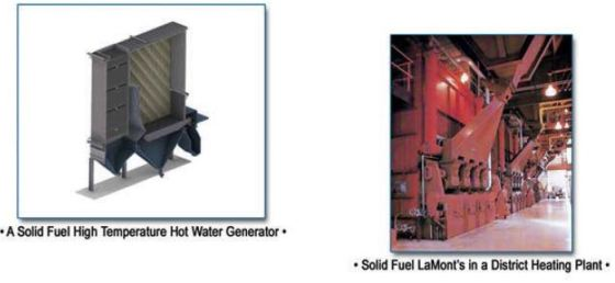 lndeck LaMont Solid Fuel Model For Hot Water Generation